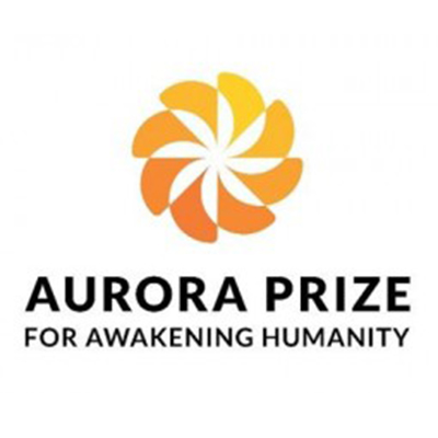 Outdoor advertising for ''Aurora Prize'' 2017